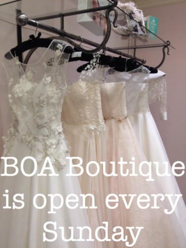 BOA open Sunday